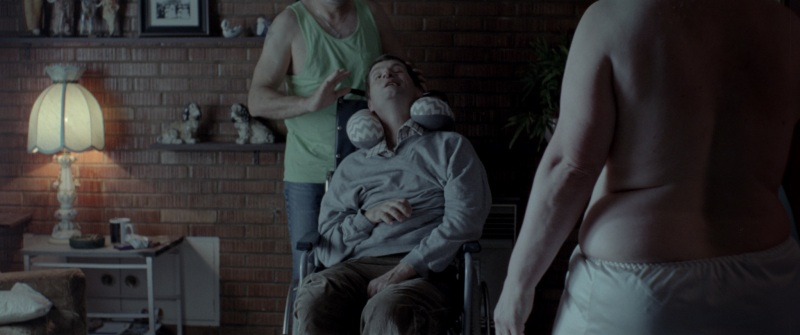 1. A scene from 'Nathan Loves Ricky Martin' - DOP Michael Wylam