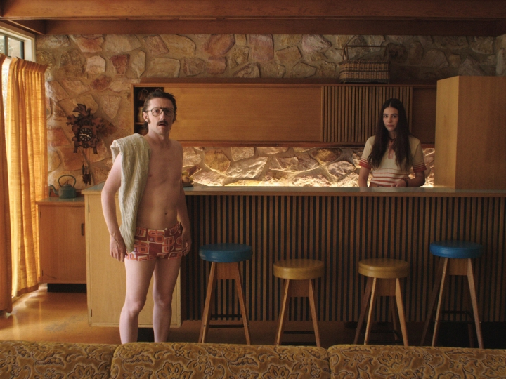 4. A scene from 'Girl Asleep' - DOP Andrew Commis ACS