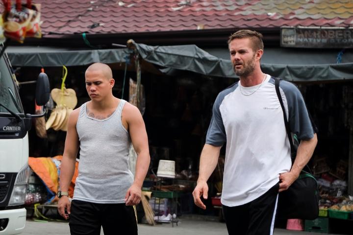 Jamie (Chad McKinney) and Rick (Garret Dillahunt) in 'Beast' - PHOTO Geric Cruz