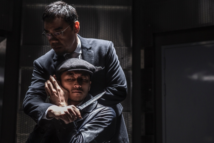 Tense moments in 'Heartfall Arises' - DOP Sion Michel ACS