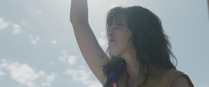 Evelyn in a scene from the film 'Hounds of Love' - DOP Michael McDermott