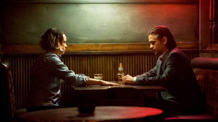 Rachel McAdams and Colin Farrel in a scene from 'True Detective' - DOP Nigel Bluck, PHOTO Lacey Terrell