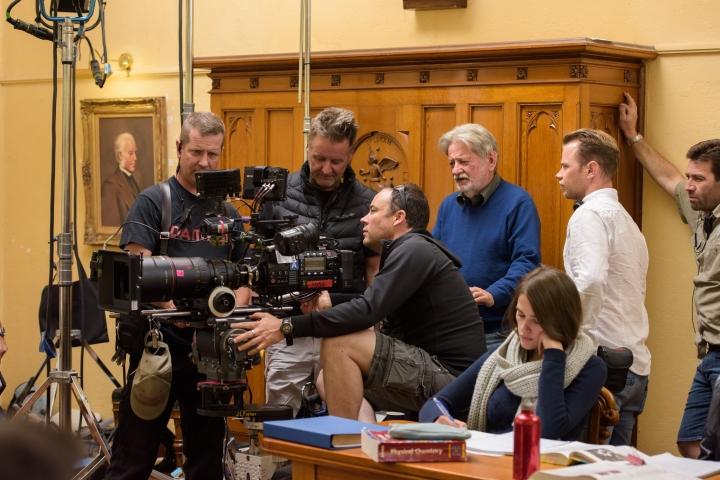 3. Behind the scenes on 'Ali's Wedding' - PHOTO Ben Timony