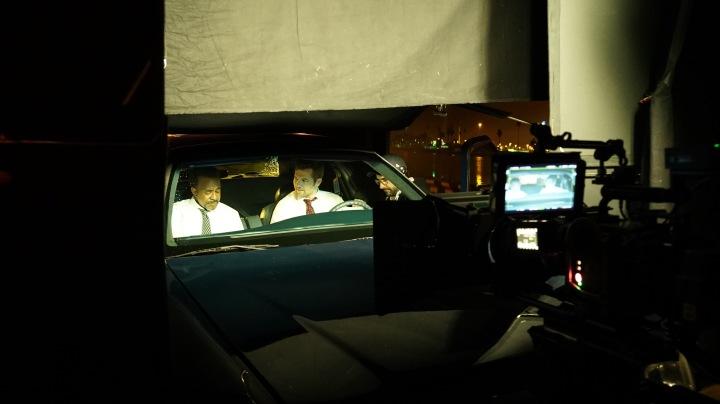 Car Projection BTS